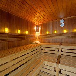 Sauna im Globana Airport Hotel