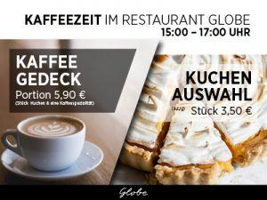 Kaffezeit im Globe 400 x 300